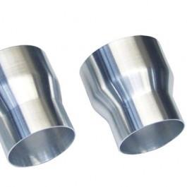 Aluminium recht verloop 60 - 50mm