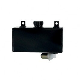 Windshield washer tank, horizontal