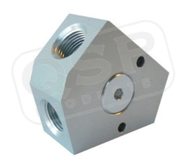 Aluminium forged Y-block (Female)
