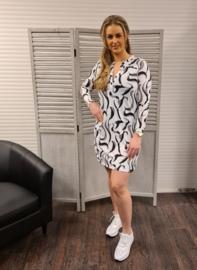Splendour printed tunic  211 Suzie  multi/off white