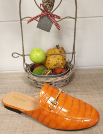 Loafer orange