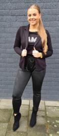 Dayenna broek Zwart/mix