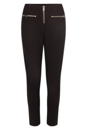 punto tight pants with zips  black   205Porter