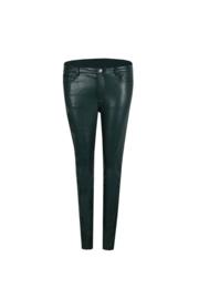 leatherlook broek donkergroen C&S