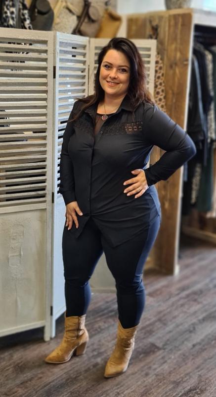 Karen blouse zwart