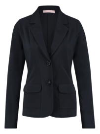 Clean blazer dark blue