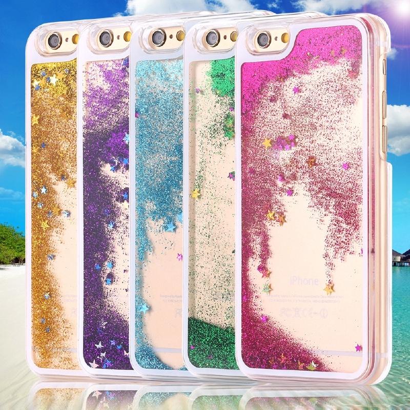 iPhone 6 Hoesje (Glitter/Ster)