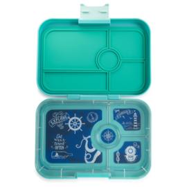 Yumbox tapas antibes blue, 4 vakken