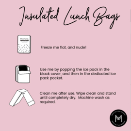 Montii thermisch isolerende lunch tas Kakatoe