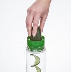 Zing slicer, komkommersnijder voor op je  zingo waterfles