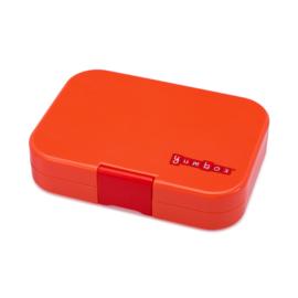 Yumbox saffron oranje, panino 4 vakken