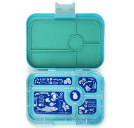 Yumbox tapas, antibes blue, 5 vakken