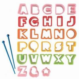 uitstekers letters