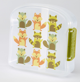 Sandwichbox vosjes
