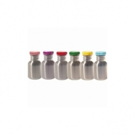 Blafre, rvs retro fles met roze dop , 300 ml