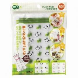 panda en konijnen zakjes