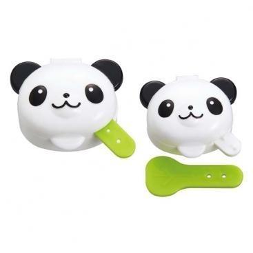 minibakjes panda, setje van 2