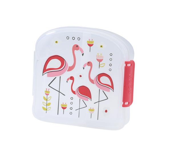 Sandwichbox flamingo