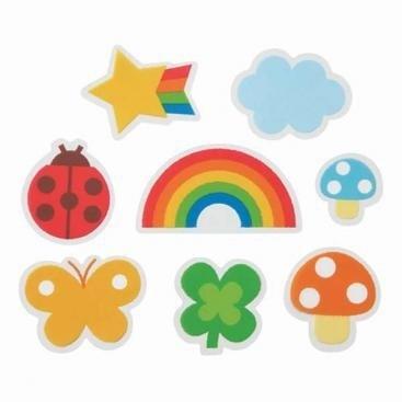 Regenboog happy baranvellen