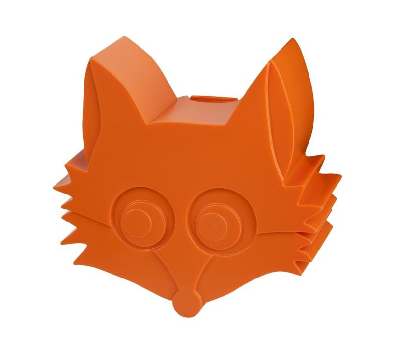 Snackbox vos, prachtig oranje, Blafre