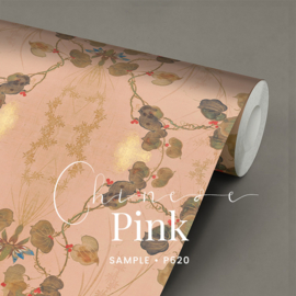 1 ROL BEHANG Chinese Pink