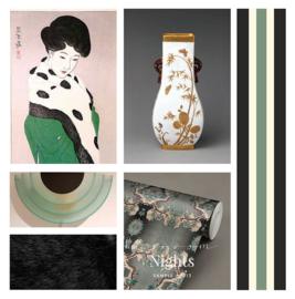 Blossom Nights / Japans behang