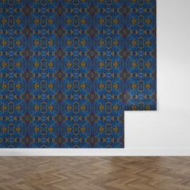 Louscious Blue / Glamour Chique behang