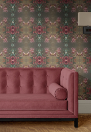 Esmaralda / Romantisch Bloemen behang