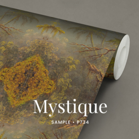 Mystique / Klassiek Botanisch behang