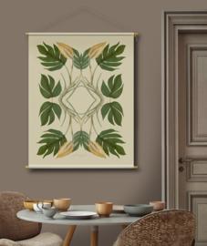 Botanische wanddecoratie T31