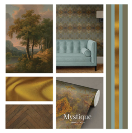 Mystique / Klassiek Botanisch behang
