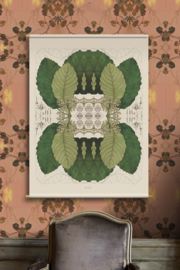 Botanische wanddecoratie T80