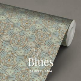 The Blues  / Klassiek Art Nouveau behang