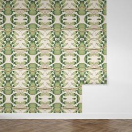 Happy Leaves  / Botanisch bladeren behang