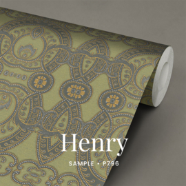 Henry  / Klassiek historisch behang