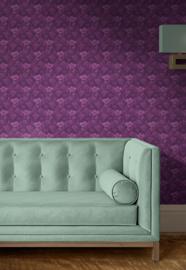 The purple room / Bloemen behang