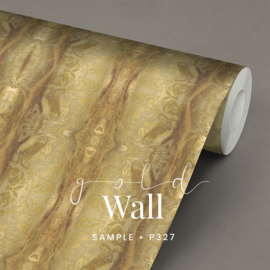 Gold Wall  / Klassiek Goudkleurig behang