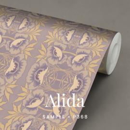 Alida  / Art Nouveau behang