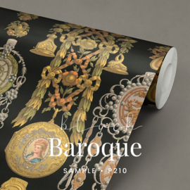 Black Baroque / Barok behang