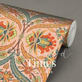 Colored Times / Klassiek Romantisch behang