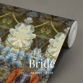 The bride / Romantisch behang