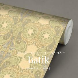 Nouveau Batik  / Klassiek Art Nouveau behang