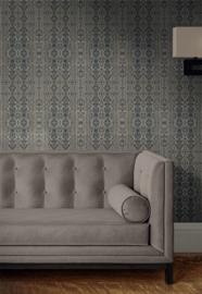 Victoria Grey / Klassiek Victoriaans behang