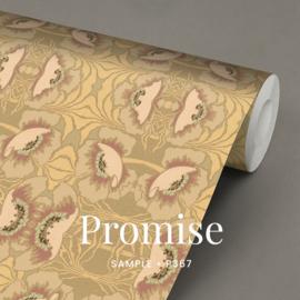 Promise / Art Nouveau behang