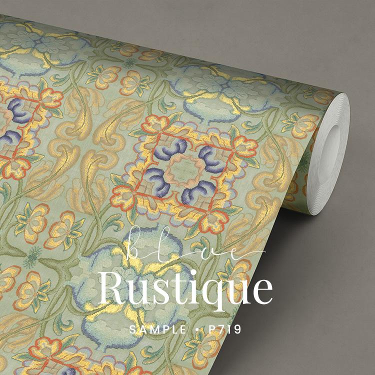 Blue Rustique