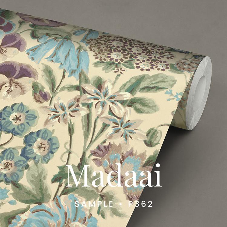 Madaai / Engels Bloemen behang