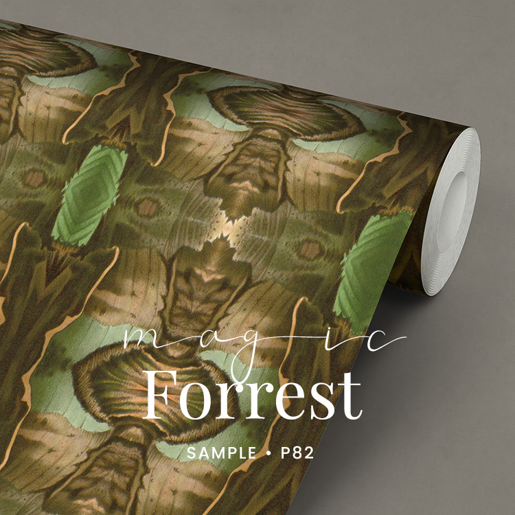Magic Forrest  / Botanisch behang