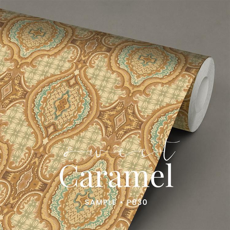 Sweet Caramel / Klassiek behang