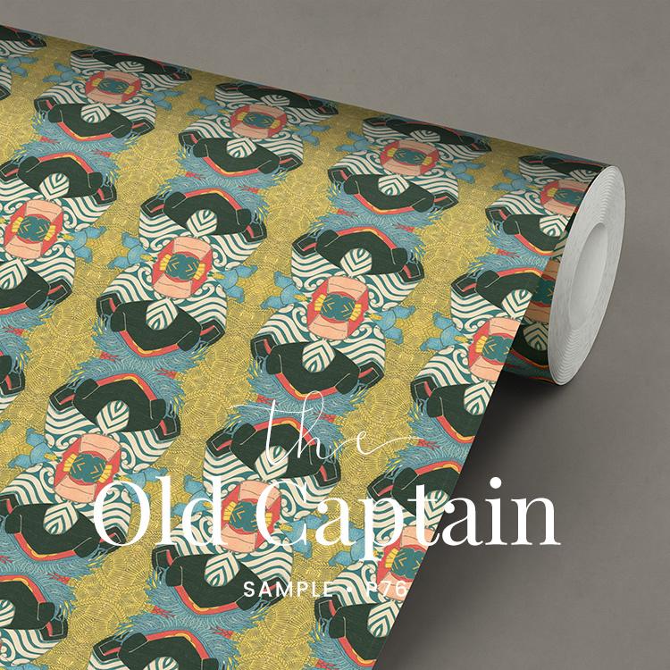 The Old Captain / Japans behang