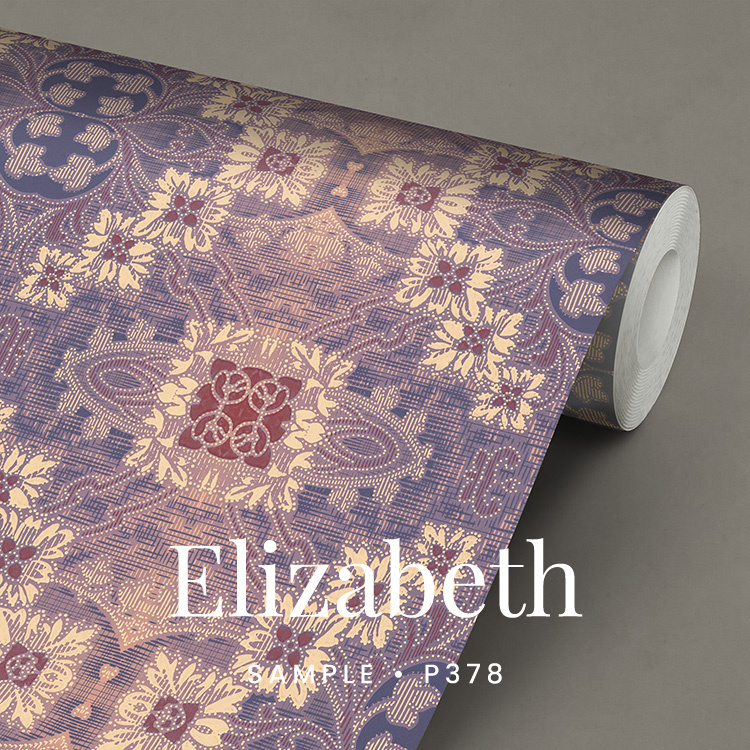 Elizabeth / Art Nouveau behang